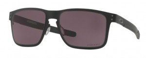 Okulary OAKLEY HOLBROOK METAL Matte Black / Prizm Gray oo4123-11