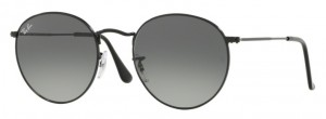 Okulary RAY BAN 3447N ROUND METAL Black / Grey Green ORB3447N-002/71