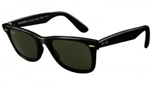 Okulary RAY BAN ORIGINAL WAYFARER Black / Green Polarized ORB2140-901/58