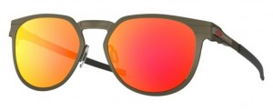 Okulary OAKLEY DIECUTTER Pewter / Prizm Ruby  oo4137-02