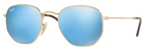 Okulary RAY BAN 3548N Gold / Light Blue Flash ORB3548N-001/9O