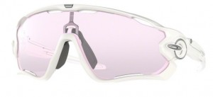 Okulary Oakley JAWBREAKER Polished White / Prizm Low Light oo9290-32