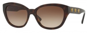 Okulary Versace Havana / Brown Gradient VE4343-108/13