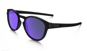 Okulary OAKLEY LATCH Matte Black / Violet Iridium oo9265-06