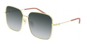 Okulary Gucci Gold / Grey Gradient GG0443S-001