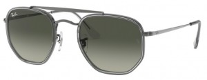 Okulary RAY BAN 3648M MARSHAL II Gunmetal / Grey Gradient Dark Grey ORB3648M-004/71