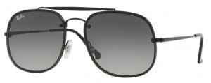 Okulary RAY BAN Demigloss Black / Light Grey Gradient Dark Grey ORB3583N-153/11