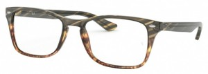 Oprawki RAY BAN 5228M Green Gradient Brown Stripped RB5228M-5840