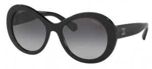 Okulary CHANEL Black / Grey Gradient CH5372-C501S6