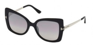 Okulary Tom Ford Shiny Black / Grey FT0609-01C