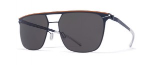 Okulary MYKITA DURAN  Indigo Orange / Dark Grey Solid C431