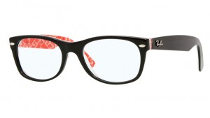 Oprawki RAY-BAN 5184 NEW WAYFARER Black On Red Texture ORX5184-2479