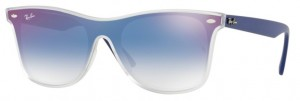 Okulary RAY BAN 4440N Matte Transparent / Clear Gradient Blue Mirror Red ORB4440N-6356X0