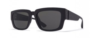 Okulary MYKITA BOND MD1 Pitch Black / Dark Grey Solid C301