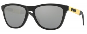 Okulary OAKLEY FROGSKIN MIX Polished Black / Prizm Black 9428-02