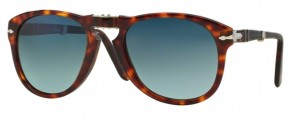 Okulary PERSOL Havana Crystal / Crystal Blue Gradient Polarized PO0714 24/S3