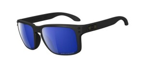 Okulary OAKLEY HOLBROOK Matte Black / Ice Iridium Polarized oo9102-52
