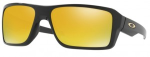 Okulary OAKLEY DOUBLE EDGE Polished Black / 24k Iridium oo9380-02