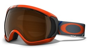 Gogle snow OAKLEY CANOPY Freedom Plaid Neon Fire / Black Iridium 57-781