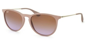 Okulary RAY BAN 4171 ERIKA Dark Rubber Sand / Gradient Brown ORB4171-6000/68