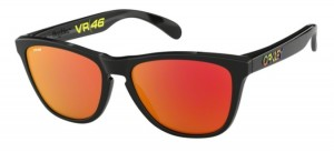 Okulary OAKLEY FROGSKIN Polished Black / Prizm Ruby oo9013-E6