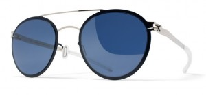 Okulary MYKITA BUSTER Silver/Night Sky - Saphire Blue Flash C234