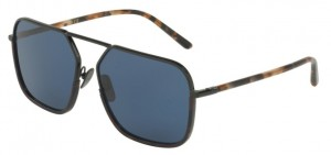 Okulary DOLCE & GABBANA 2193J Black Blue Havana / Blue DG2193J-01/80