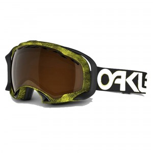 Gogle snow OAKLEY SPLICE Venom / Black Iridium 57-840