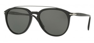 Okulary PERSOL Black / Green Polarized PO3159S-901458