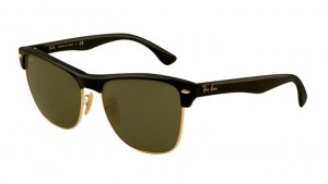 RAY BAN CLUBMASTER Matte Black / Green ORB4175-877