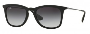 Okulary RAY BAN 4221 Rubber Black / Light Grey Gradient Dark Grey ORB4221-622/8G