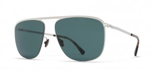Okulary MYKITA BRIAN Shinysilver / MY+ Neophan Polarized C051