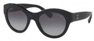 Okulary CHANEL Black / Grey Gradient CH5371-C501S6