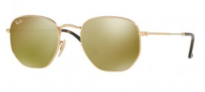 Okulary RAY BAN 3548N Gold / Gold Flash ORB3548N-001/93