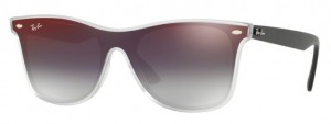 Okulary RAY BAN Matte Trans / Grey Gradient Mirror Red ORB4440N-6355U0