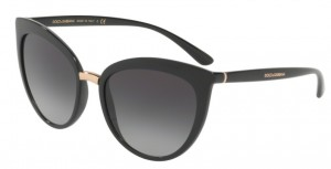 Okulary DOLCE & GABBANA Black / Grey Gradient DG6113-501/8G