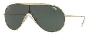 Okulary RAY BAN 3597 Gold / Dark Green ORB3597-905071