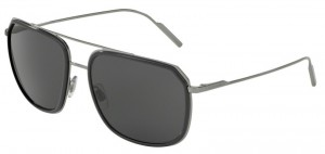 Okulary DOLCE & GABBANA 2165 Grey Gunmetal / Grey DG2165-04/87