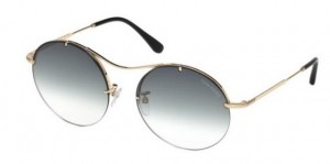 Okulary Tom Ford Shiny Rose Gold / Grey Gradient FT0565-28B