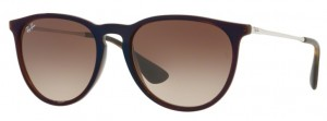 Okulary RAY BAN ERIKA Transparent Brown Blue  / Brown Grad. Dark Brown ORB4171-631513