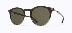 Okulary MYKITA ALFUR C9 Santiago Gradient / Shiny Graphite / Raw Green Solid C922