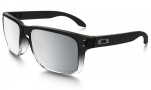 OAKLEY HOLBROOK Dark Ink Fade / Chrome Iridium Polarized oo9102-A9