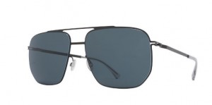 Okulary MYKITA LILLESOL Black / Black Polarized C002