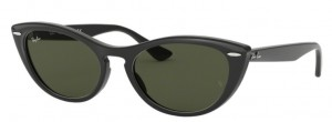 Okulary RAY BAN 4314N Black / Green ORB4314N-601/31