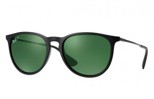 Okulary RAY BAN 4171 ERIKA Black / Green Polarized ORB4171-601/2P