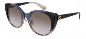 Okulary Gucci Blue Brown / Grey Gradient GG0369S-004