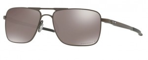 Okulary OAKLEY GAUGE 6 Pewter / Prizm Black Polarized oo6038-06