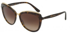 Okulary DOLCE & GABBANA 4304 Havana / Brown Gradient DG4304-502/13