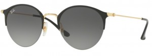 Okulary RAY BAN Gold Top Shiny Black / Grey Gradient ORB3578-187/11