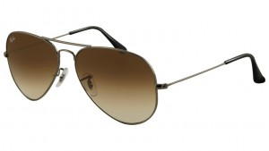 3025 AVIATOR LARGE METAL / Gunmetal / Faded Brown / ORB3025-004/51